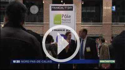 Le Financial'IT Day au 19/20 de France 3 - Nord-Pas de Calais